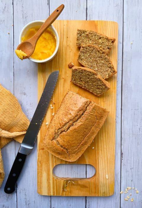 Pan sin harina de trigo